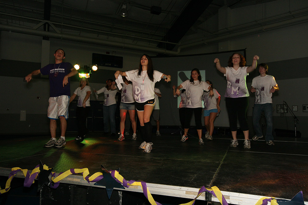 CWRU dance marathon case western 2010 first line dance